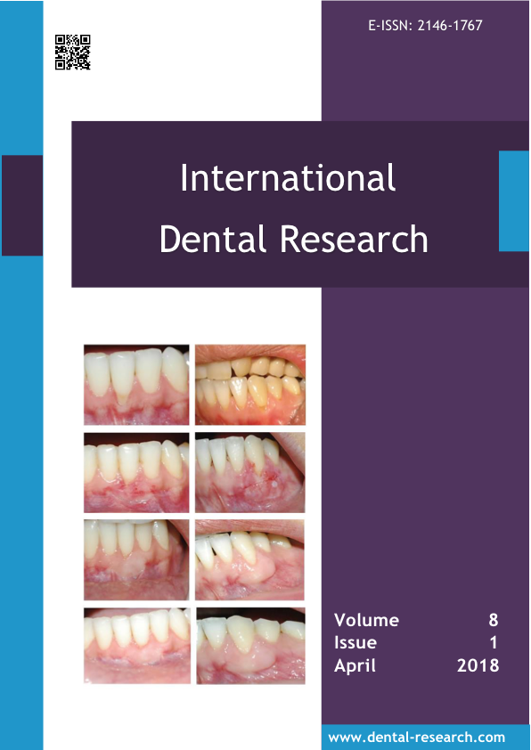 International Dental Research April 2018 Issue